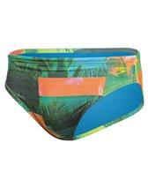 Speedo Men's Palms Printed Swim Brief Swimsuit