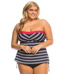 Beach House Plus Size Cape Cod A-Line Bandini Top
