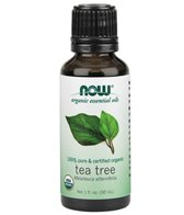 NOW Organic Tea Tree Essential Oil 1 oz