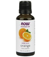 NOW 100% Pure Sweet Orange Essential Oil 1 fl
