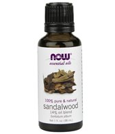 NOW 100% Pure & Natural Sandalwood Oil 14% Oil Blend 1 oz