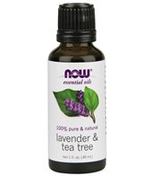 NOW Lavender & Tea Tree 60/40 Oil Blend 1 oz