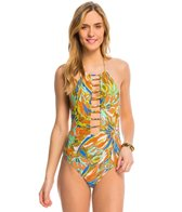 Faded Flowers One Piece Swimsuit