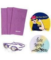 Sporti Women's Swim Gear Gift Set