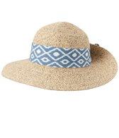 Sun N Sand Women's Paper Braid Blue Stone Hat