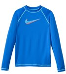Nike Swimwear Girls' Hydro UV L/S Rashguard Top (7yrs-14yrs)