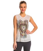 Chaser Heart in Hands Muscle Workout Shirt