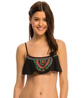 Hobie A Stitch In Time Hanky Crop Bikini Top
