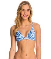 Sofia La Jolla Blue Double Loop Bikini Top