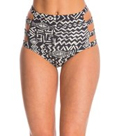 Billabong Totally 80's Retro High Waist Bikini Bottom
