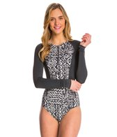 Billabong Totally 80's L/S Rashguard One Piece Swimsuit