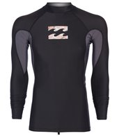 Billabong Men's Iconic Long Sleeve Rash Guard