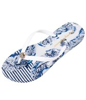 Tommy Bahama Women's Whykiki Pyrmont Paisley Flip Flop