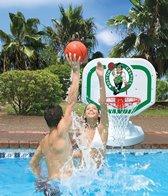 Poolmaster Boston Celtics NBA Competition Style Poolside Basketball Game