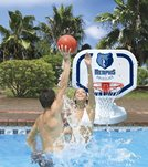 Poolmaster Memphis Grizzlies NBA Competition Style Poolside Basketball Game
