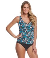 Prego Maternity Swimwear Floral Posh Tankini Set