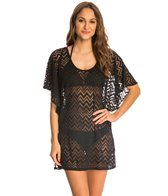 Dotti Chic Chevron Flutter Cover Up Tunic