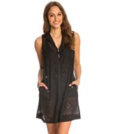 Dotti Tribal Times Hoodie Cover Up Tunic