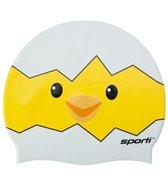 Sporti Chick-A-Poo Silicone Swim Cap Jr.