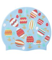 Sporti Egg-citing Silicone Swim Cap