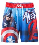 C-Life Boys' Captain America Boardshort (4yrs-12yrs)