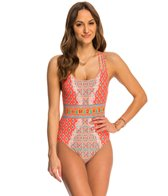 Nanette Lepore Bindi Goddess One Piece Swimsuit