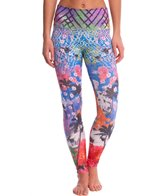 Om Shanti Clothing Floral Oasis Eco Yoga Leggings