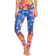 Om Shanti Clothing Birds of Paradise Eco Yoga Leggings