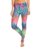 Om Shanti Clothing Rainbow Leopard Eco Yoga Leggings