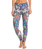 Om Shanti Clothing Alluring Bouquet Eco Yoga Leggings