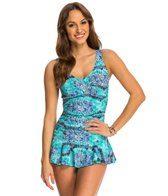 Ceeb La Bamba Twist Top Swimdress
