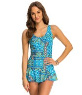 Ceeb Beach Party Twist Top Swimdress