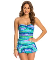 Ceeb Key Lime Bandeau Swimdress