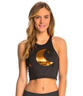 Teeki Magic Hat Mermaid Yoga Crop Top