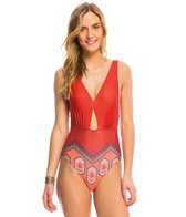MINKPINK Rosewater One Piece Swimsuit