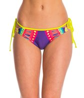 MINKPINK Swimwear Bright Delight Cheeky Bikini Bottom