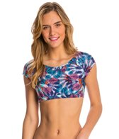 MINKPINK Flash Back Crop Rashguard