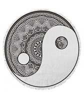 Round Towel Company The Ying & Yang Towel