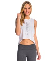 Jiva Centered HI-LO Crop Muscle Tank