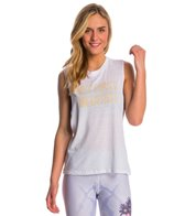 Jiva Meditate Oversized Muscle Tank