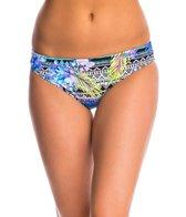 Kenneth Cole Reaction Hot Tropic Scrunch Back Hipster Bikini Bottom