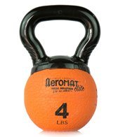 AeroMat Elite Mini Kettlebell Medicine Ball, 4 lb