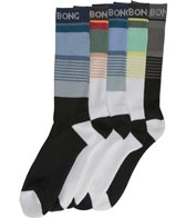 Billabong Men's 5 Pack Stripe Sport Sock