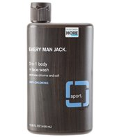 Every Man Jack Sport Body + Face Wash, Anti-Chlorine in Signature Mint 13.5oz