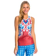 Triflare Women's USA Beauty Tri Top