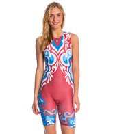 Triflare Women's USA Beauty Tri Suit