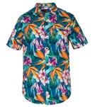 Hurley Men's Beach Cruiser Short Sleeve Shirt