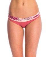 Maaji Swimwear Cinnabar Abstraction Reversible Signature Bikini Bottom