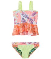 Maaji Girls' Oh La La Ruffle Two Piece Tankini Set (6-16)