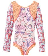 Maaji Girls' Monsieur Birds L/S One Piece Swimsuit (6-16)